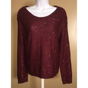 a.n.a. size Medium sweater with bow